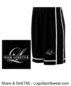 TEAM LIFESTYLE MEN'S BASKETBALL SHORTS Design Zoom