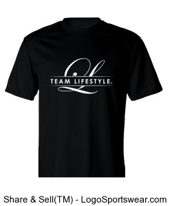 MEN'S TEAM LIFESTYLE PERFORMANCE/WORKOUT TEE Design Zoom